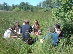 Gemeinschaftsbildung Wildnis Wege