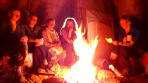 Wildnispädagogik-Feuer