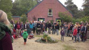 Wildnis Festival Morgen Ritual