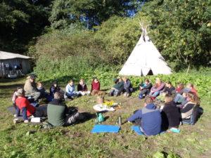 Gemeinschaftsbildung Wildnis Wege Kreis