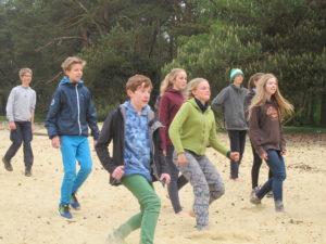 Wildnis Übergangsritual Walk A Way Spiele auf der Sanddünd 5