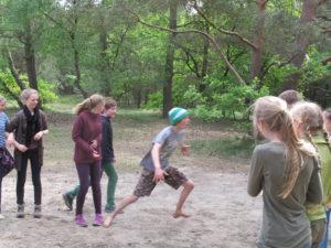 Übergangsritual Walk A Way Spiele im Wildnis Camp