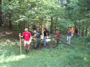 Jugendvisionssuche Base Camp erwandern