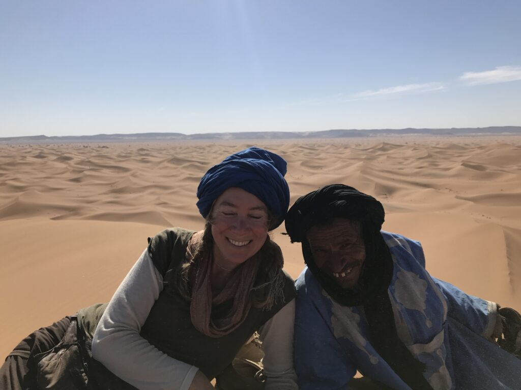 Bei den Nouaji in der Sahara 2019